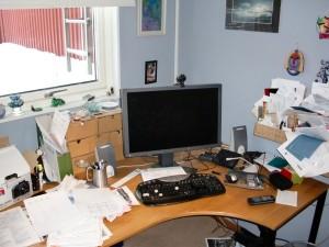 Före - skrivbord